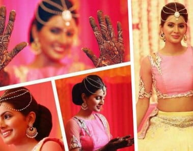 5 Pretty outfit options for Mehendi ceremony