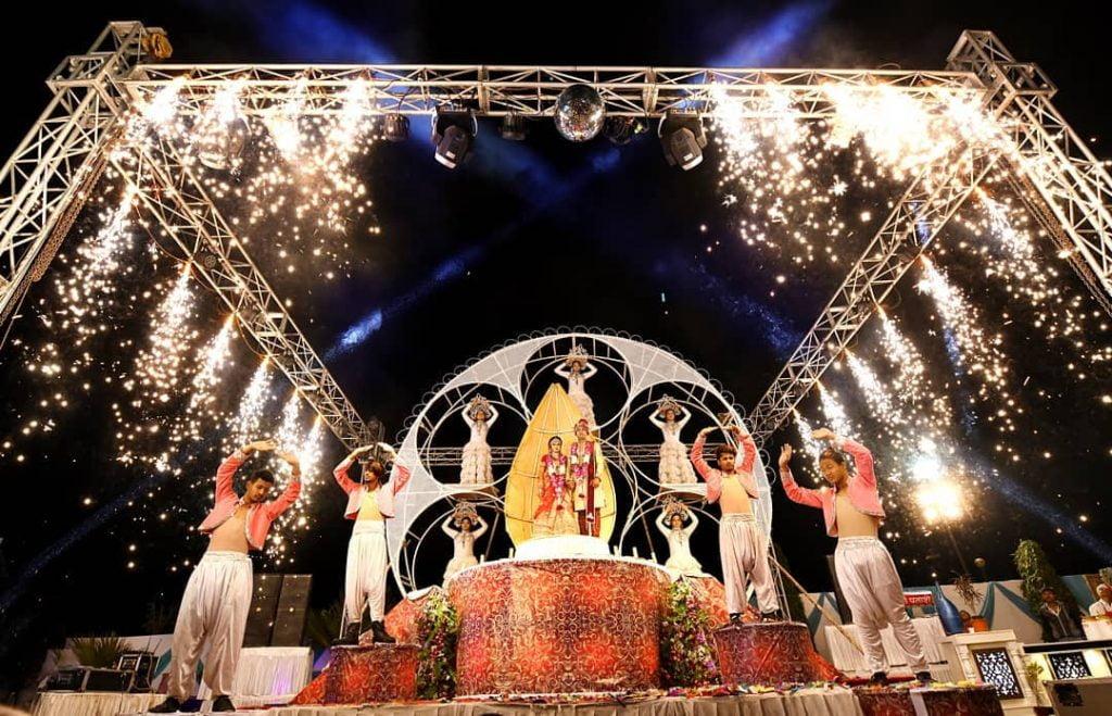 wedding dance troupe all jaimala themes