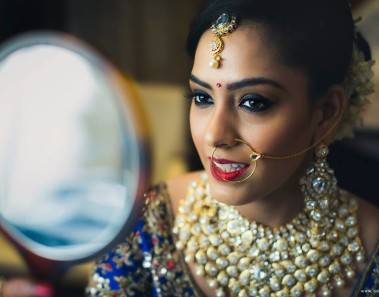 Mesmerizing Shots of Brides flaunting their Nosepins