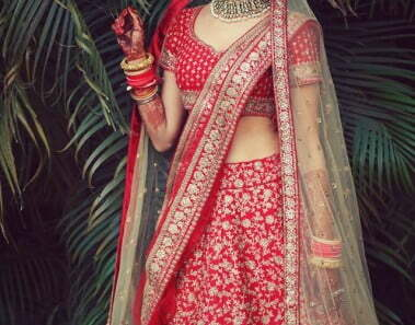 Lehenga style to suit your body type-WedAbout