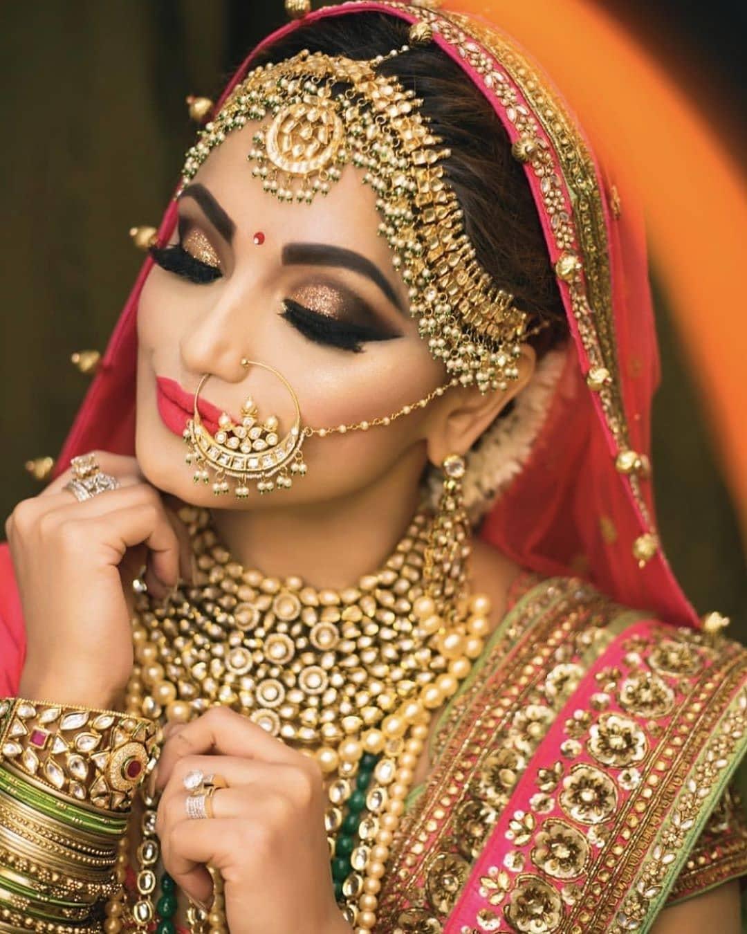 Indian Wedding Makeup: Indian Bridal Makeup Look 10