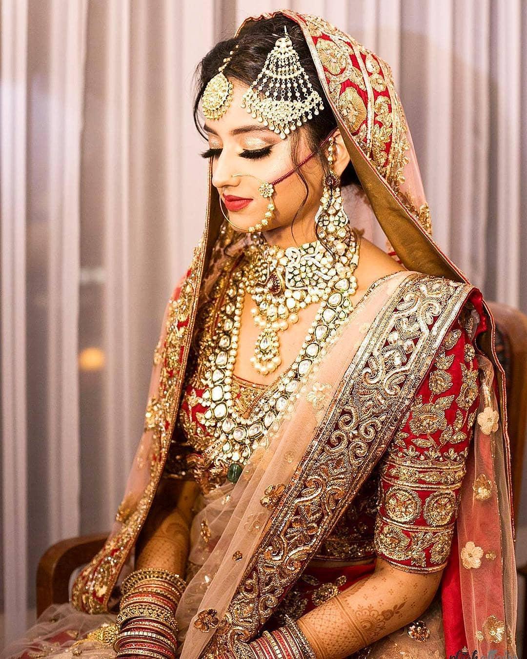 Indian Wedding Makeup: Indian Bridal Makeup Look 3