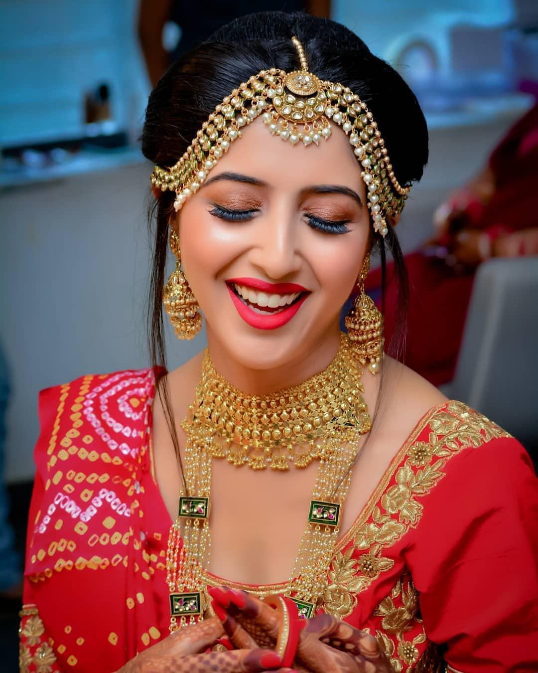 Indian Wedding Makeup: Indian Bridal Makeup Look 7