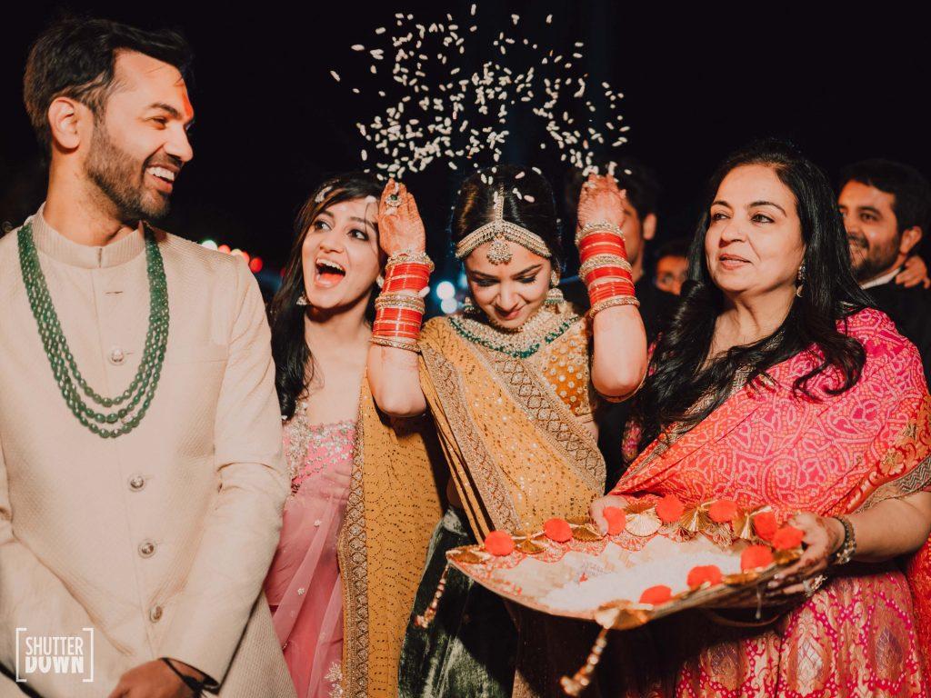 candid Mrighna Shallaabh happy vidai ceremony photography