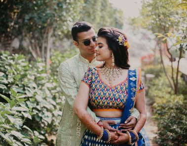 An Udaipur Wedding with Bride in the Most Ravishing Bridal Dresses by Top Designers in Delhi!