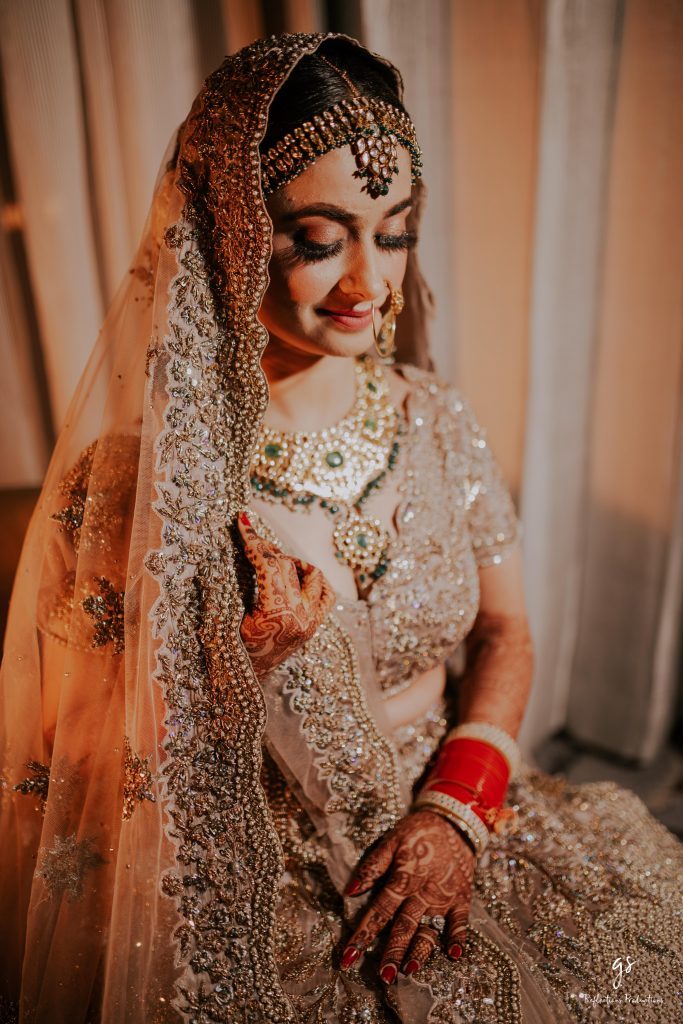 Indian Bridal Natural nude toned eye makeup look for 2020