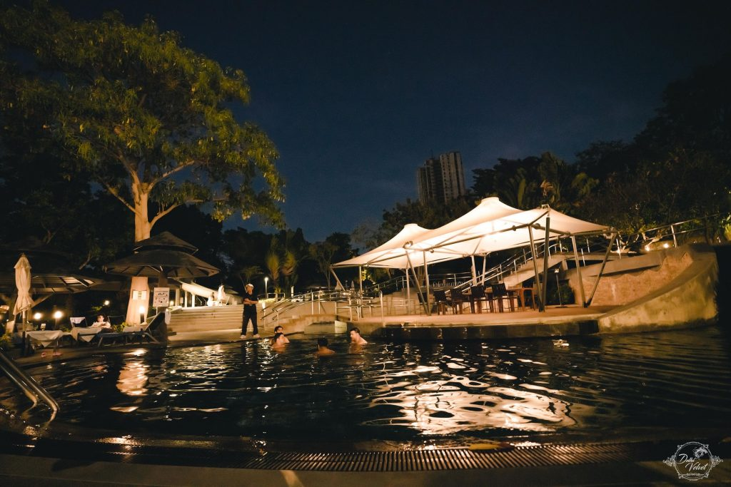 poolside party venue in Hotel Royal Cliff, Pattaya
