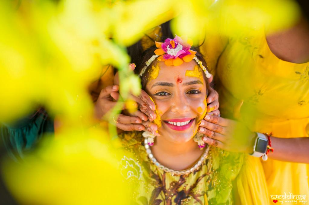 Unique Photography Ideas for Indian Haldi Ceremony