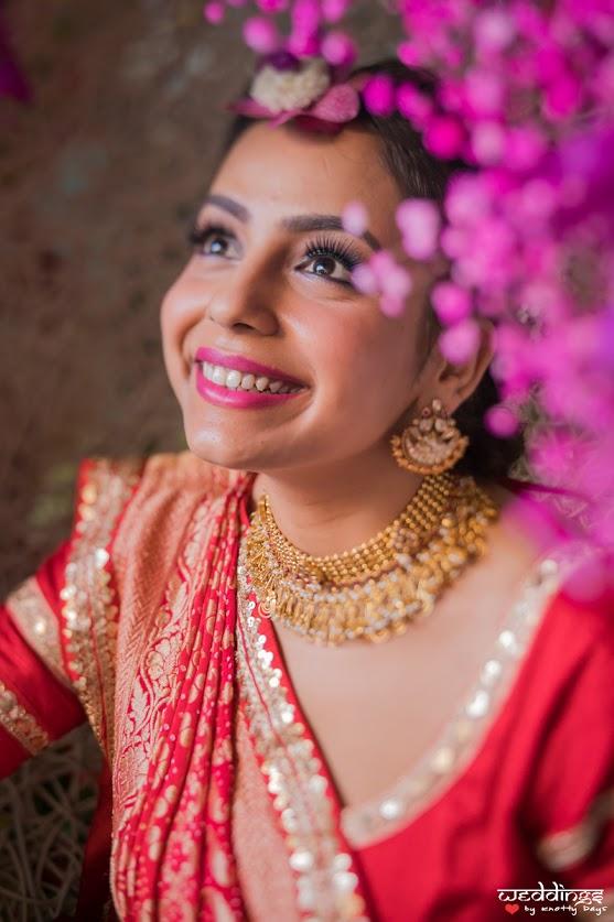 Subtle bridal makeup for Shalini for her Mehendi before Dusit Thani Hua Hin Wedding
