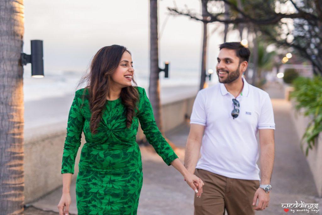 Outfit Ideas for a Destination Pre-wedding Shoot in Bangkok