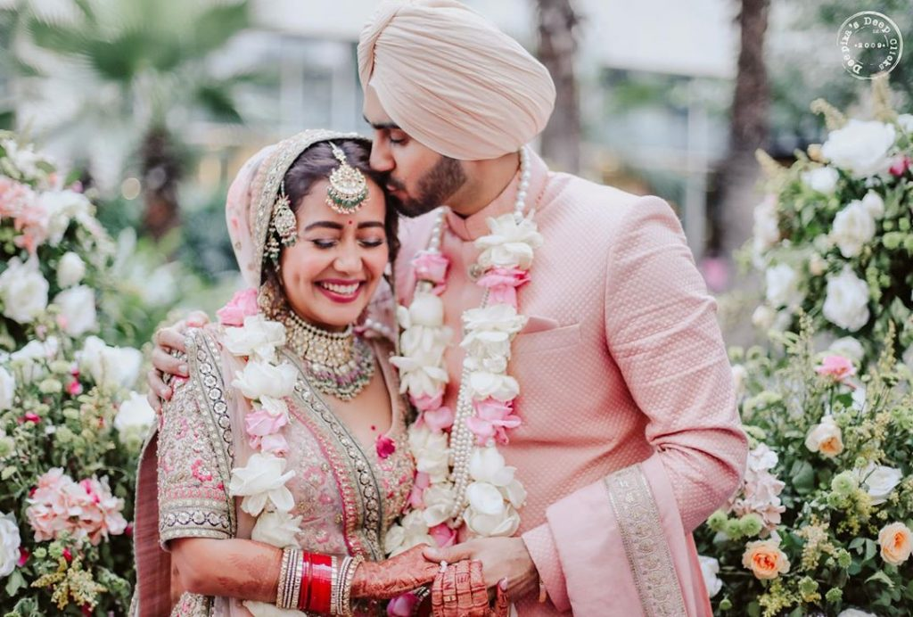 neha kakkar daytime wedding ceremony