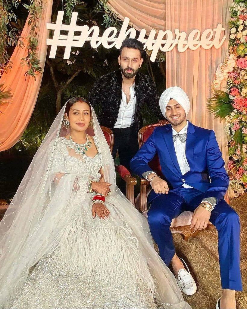 nehupreet wedding reception photograph