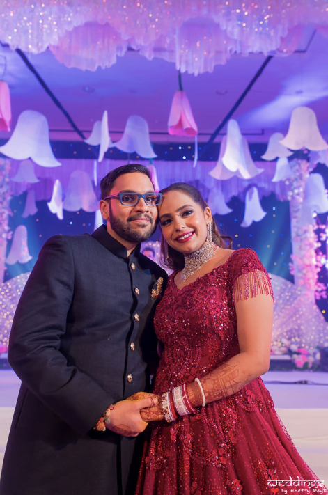 Post Wedding Glow of Shalini and Akhil captured at their American Styled Reception in Hua Hin Thailand