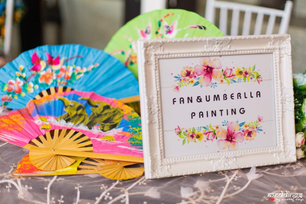 Thailand themed decoration items at Dusit Thani Hua Hin Wedding