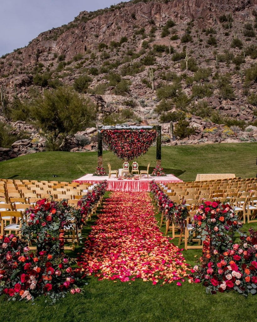 destination wedding mandap decor