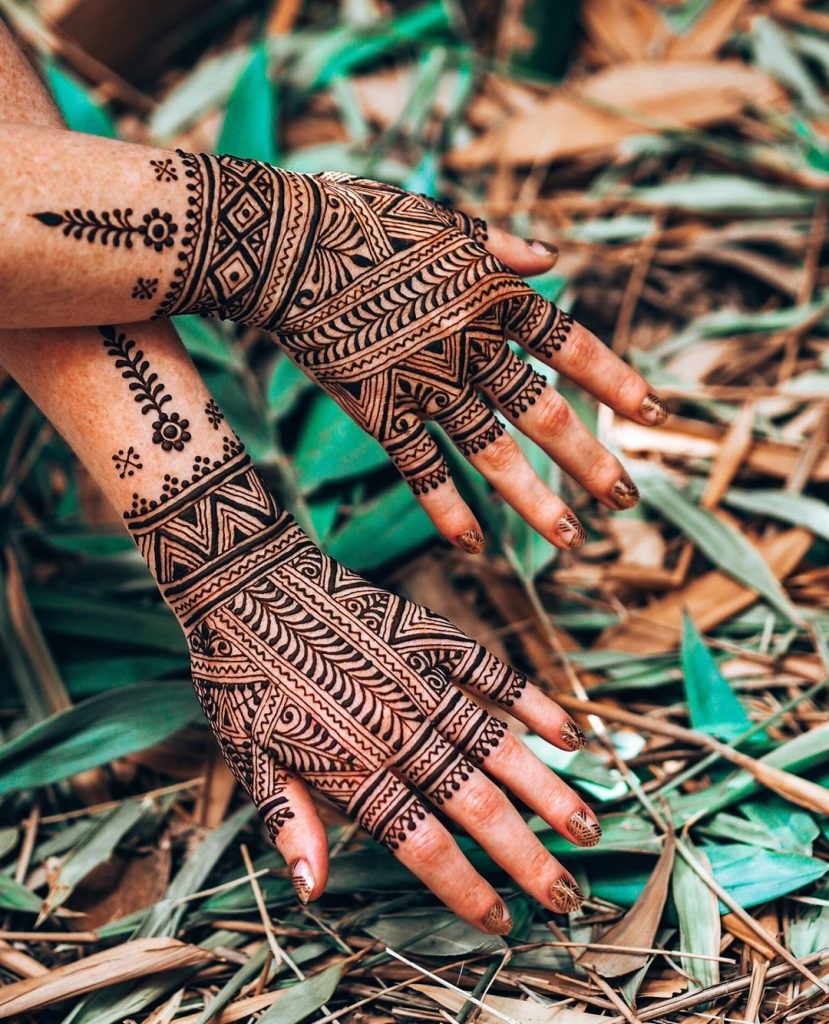 Intricate Morrocan Henna for brides of 2020