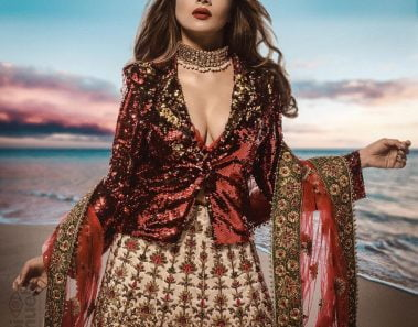 30+ Latest Jacket Style Lehenga Designs & Ideas for Your Upcoming Winter Wedding!