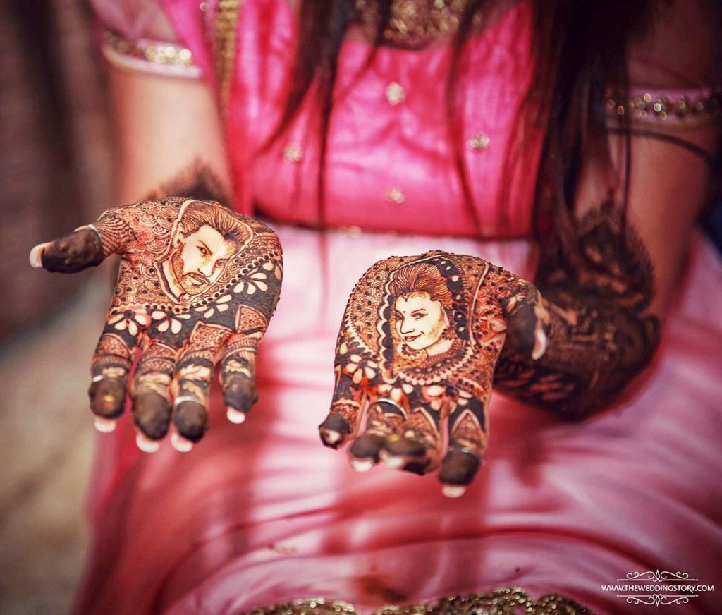 front hand portrait design of Divyanka Tripathi
