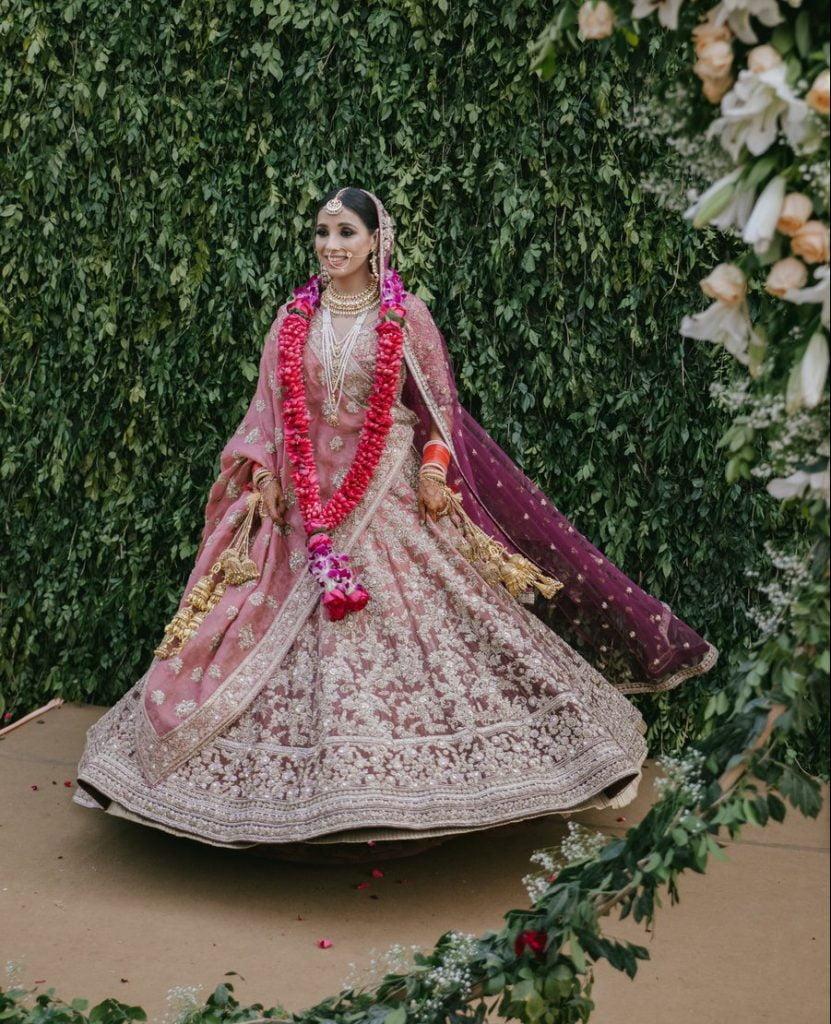 onion lehenga colours for day wedding unique bridal lehenga colors