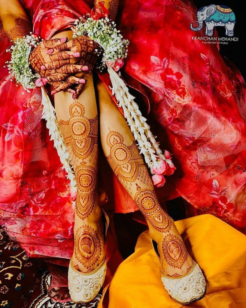Round Circular Mandala Bridal Mehndi Design 2020