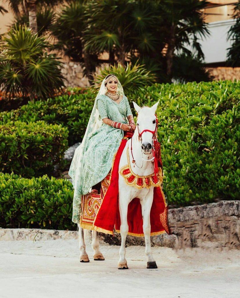 bridal entry on a ghori