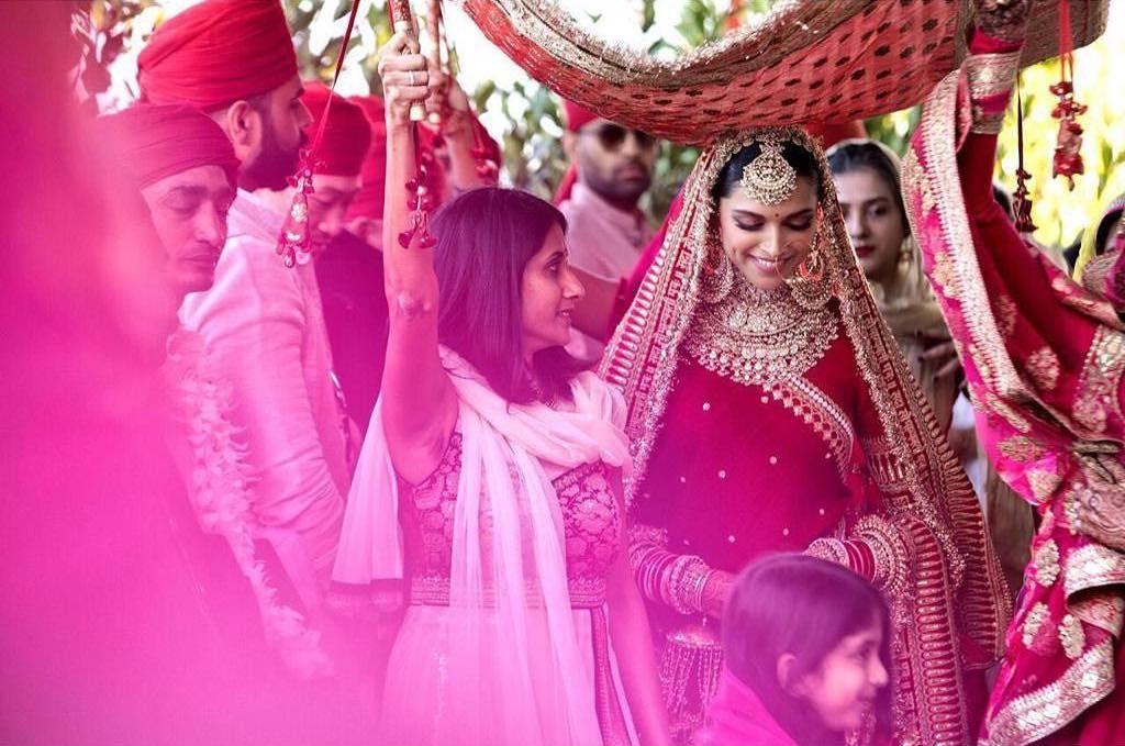 Deepika Padukone's Bridal Entry Chaadar