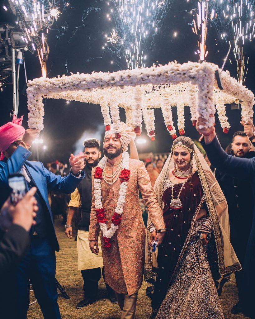 phoolon ki chaddar special entries in wedding