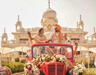 20+ Best Bride And Groom Entry Ideas To Spice Up Your Wedding Events