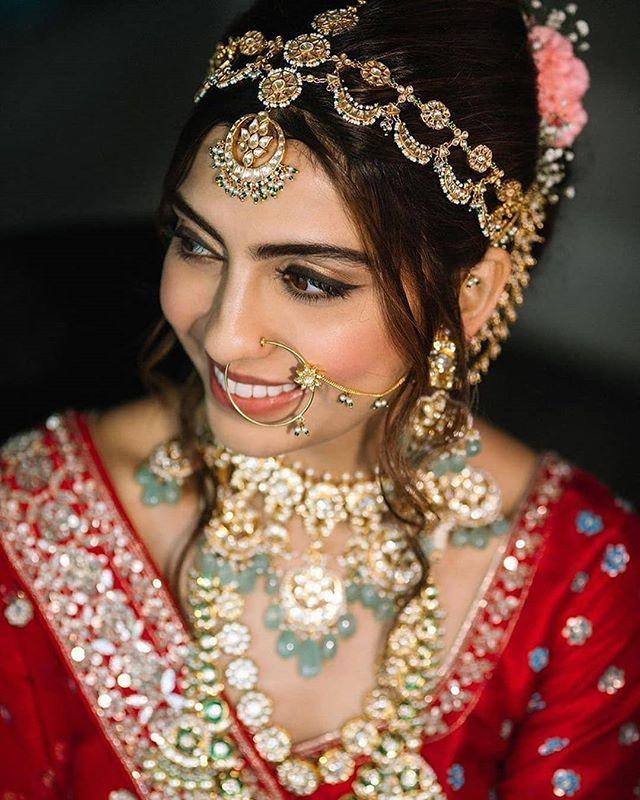 indian bridal headband