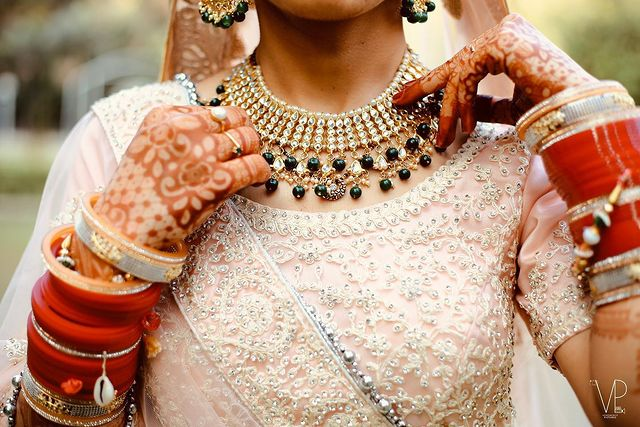 Artificial Indian bridal jewelry