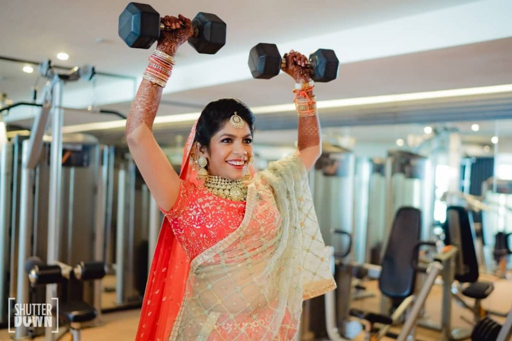 pre wedding workout routine